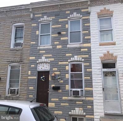 1253 Sargeant Street, Baltimore, MD 21223 - #: MDBA474136