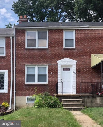 839 Evesham Avenue, Baltimore, MD 21212 - MLS#: MDBA474612
