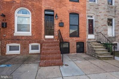 45 E Randall Street, Baltimore, MD 21230 - #: MDBA474824