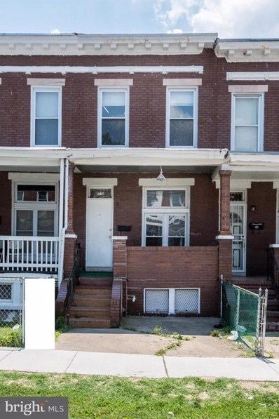 1713 Homestead Street, Baltimore, MD 21218 - MLS#: MDBA474860