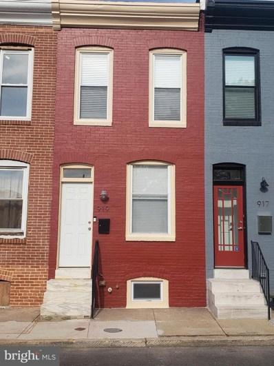 919 N Bradford Street, Baltimore, MD 21205 - #: MDBA474878