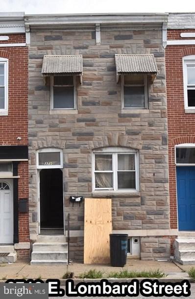 3710 E Lombard Street, Baltimore, MD 21224 - #: MDBA475378