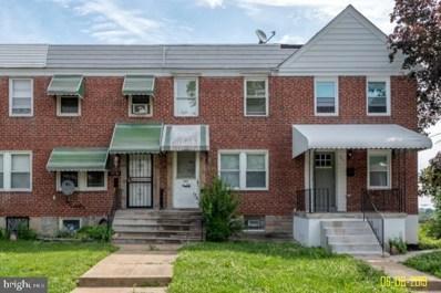 3632 Kenyon Avenue, Baltimore, MD 21213 - #: MDBA475486
