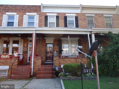 3417 Dudley Avenue, Baltimore, MD 21213 - #: MDBA475688