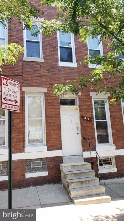 511 N Pulaski Street, Baltimore, MD 21223 - #: MDBA475726