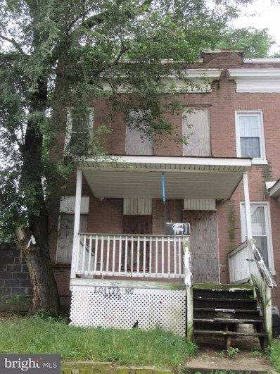 911 E Patapsco Avenue, Baltimore, MD 21225 - #: MDBA475946
