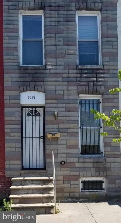 1915 Ramsay Street, Baltimore, MD 21223 - #: MDBA475980