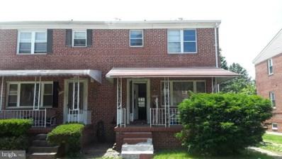 4907 Belle Avenue, Baltimore, MD 21207 - #: MDBA476292