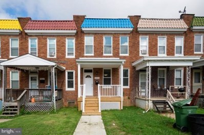 4834 Pimlico Road, Baltimore, MD 21215 - #: MDBA476582