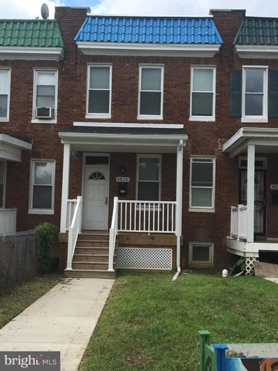 4826 Pimlico Road, Baltimore, MD 21215 - #: MDBA476614