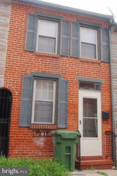 321 S Castle Street, Baltimore, MD 21231 - #: MDBA476712