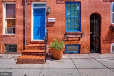 1710 Lancaster Street, Baltimore, MD 21231 - #: MDBA476854
