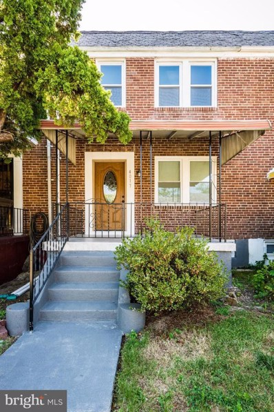 4017 Bareva Road, Baltimore, MD 21215 - #: MDBA477092