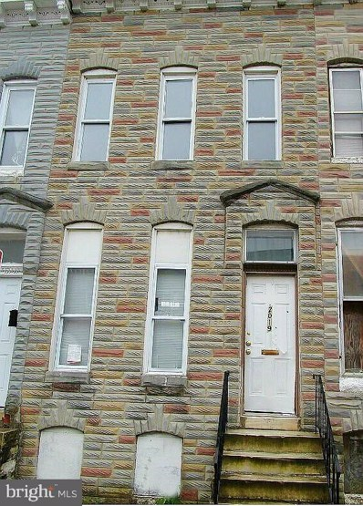 2019 Walbrook Avenue, Baltimore, MD 21217 - #: MDBA477238