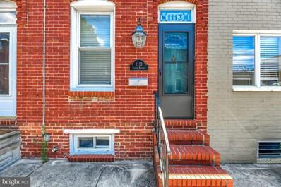 1113 S Bouldin Street, Baltimore, MD 21224 - #: MDBA477254