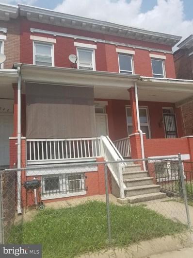 1744 Montpelier Street, Baltimore, MD 21218 - #: MDBA477348