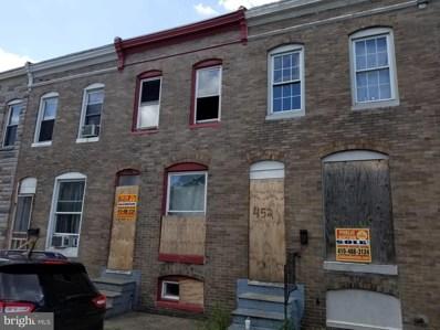 454 Furrow Street, Baltimore, MD 21223 - #: MDBA477372
