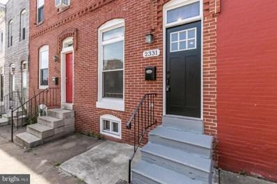 2331 E Fayette Street, Baltimore, MD 21224 - #: MDBA477384