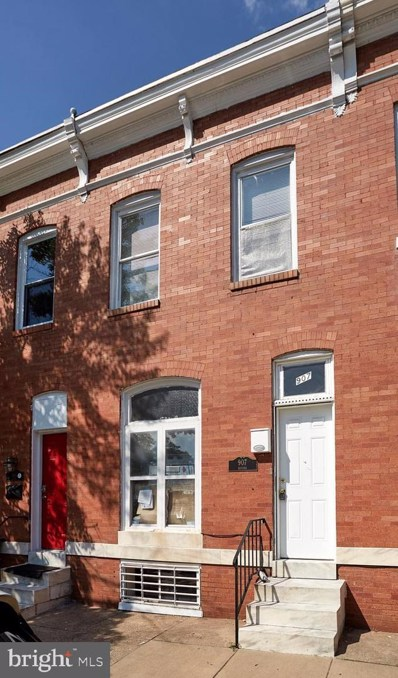 907 Bayard Street, Baltimore, MD 21223 - #: MDBA477872