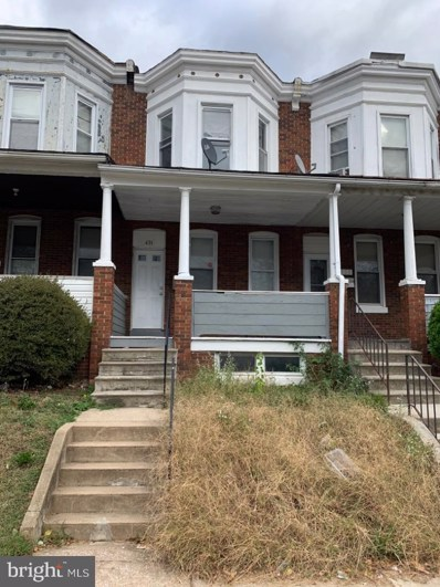 431 Yale Avenue, Baltimore, MD 21229 - #: MDBA477884