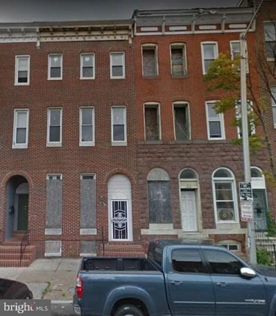 1706 McCulloh Street, Baltimore, MD 21217 - #: MDBA477964