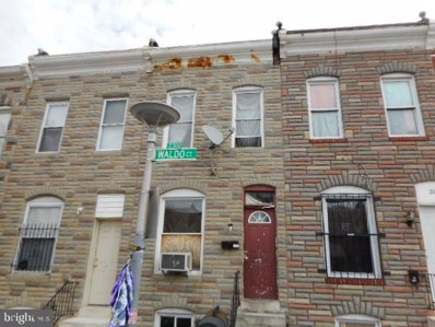 513 N Montford Avenue, Baltimore, MD 21205 - #: MDBA478074