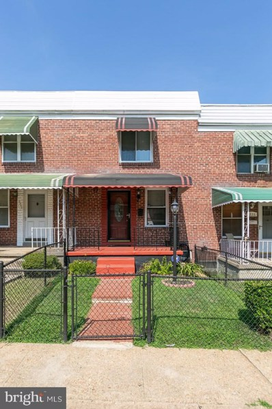 3236 Kentucky Avenue, Baltimore, MD 21213 - #: MDBA478408