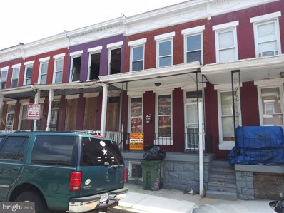 1825 Penrose Avenue, Baltimore, MD 21223 - #: MDBA478944