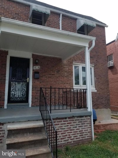 1414 N Decker Avenue, Baltimore, MD 21213 - #: MDBA479010