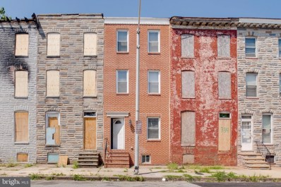 336 S Stricker Street, Baltimore, MD 21223 - #: MDBA479098