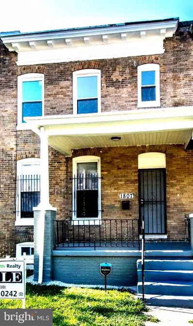 1807 E 29TH Street, Baltimore, MD 21218 - #: MDBA479504