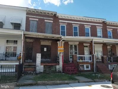 1705 Montpelier Street, Baltimore, MD 21218 - #: MDBA479576