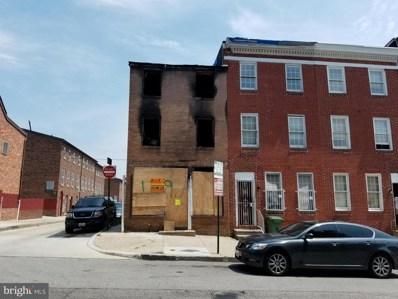 109 N Poppleton Street, Baltimore, MD 21201 - #: MDBA479608