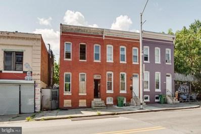 1707 W Baltimore Street, Baltimore, MD 21223 - MLS#: MDBA479804