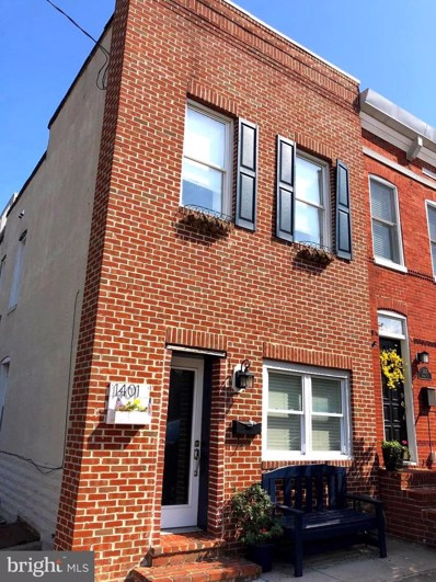 1401 Andre Street, Baltimore, MD 21230 - #: MDBA479918
