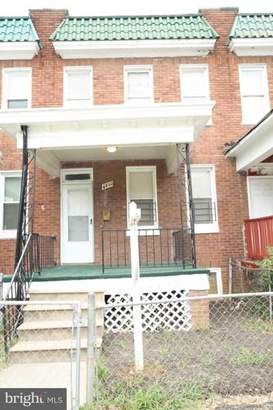 4852 Pimlico Road, Baltimore, MD 21215 - #: MDBA480040
