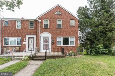 1553 Sherwood Avenue, Baltimore, MD 21239 - #: MDBA480074