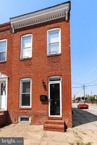 1700 Byrd Street, Baltimore, MD 21230 - #: MDBA480306