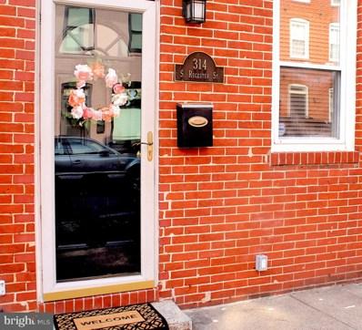 314 S Regester Street, Baltimore, MD 21231 - #: MDBA480386