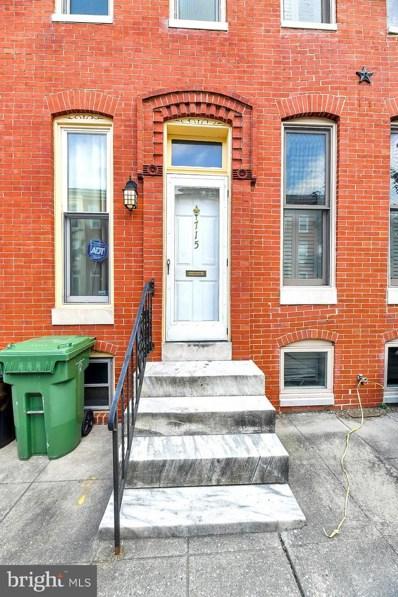 715 Portland Street, Baltimore, MD 21230 - #: MDBA480564