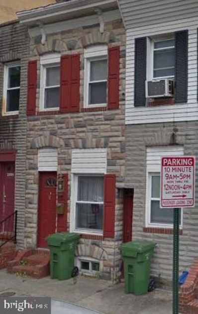 2013 Eastern Avenue, Baltimore, MD 21231 - #: MDBA480776