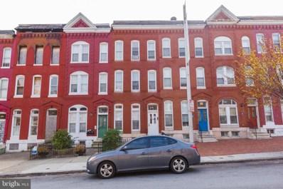 1835 W Baltimore Street, Baltimore, MD 21223 - MLS#: MDBA481006