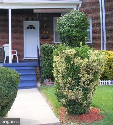 1318 Kenhill Avenue, Baltimore, MD 21213 - MLS#: MDBA481236