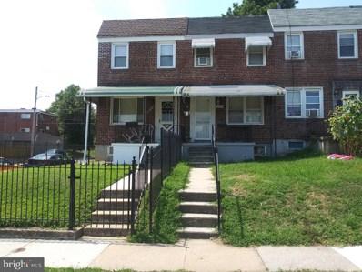 1634 Malvern Street, Baltimore, MD 21224 - #: MDBA481280