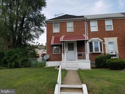 1237 Delbert Avenue, Baltimore, MD 21222 - #: MDBA481314