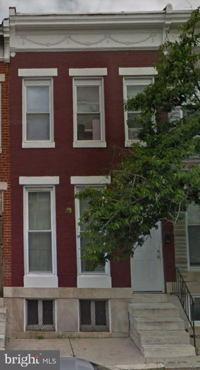 1826 Penrose Avenue, Baltimore, MD 21223 - #: MDBA481340