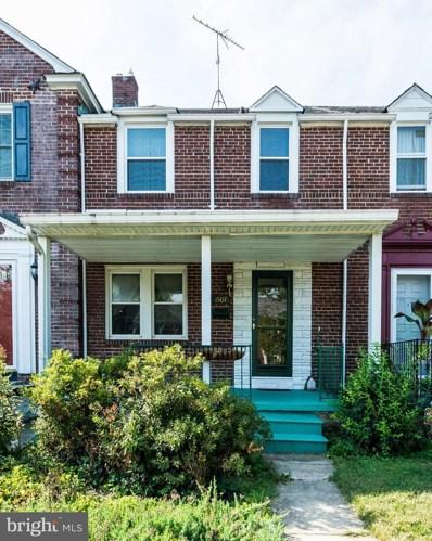 1507 Lochwood Road, Baltimore, MD 21218 - #: MDBA481860