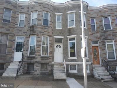 1911 Penrose Avenue, Baltimore, MD 21223 - #: MDBA481896