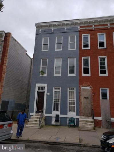 1413 Mosher Street, Baltimore, MD 21217 - #: MDBA481904