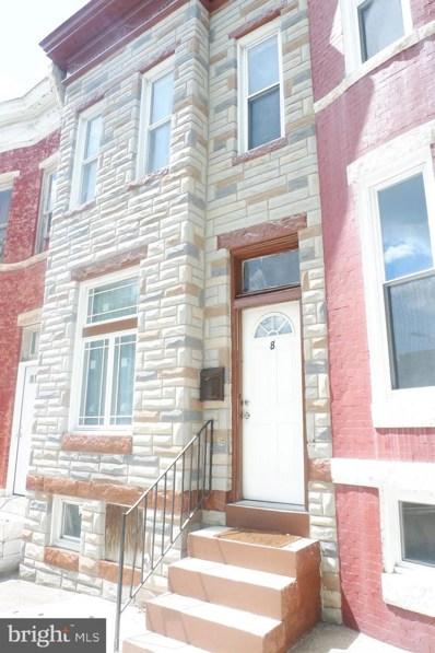 8 S Payson Street, Baltimore, MD 21223 - #: MDBA482314
